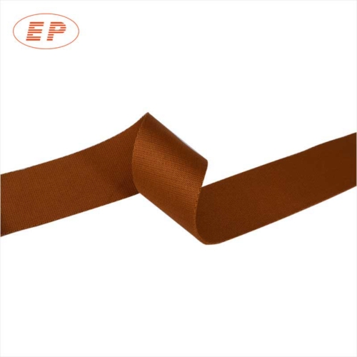 20mm brown aluminum lawn chair replacement webbing for Lawn chair webbing